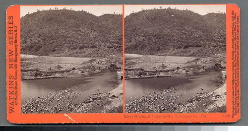 #3539 - River Mining at Jacksonville, Tuolumne County
