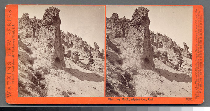 Watkins #3385 - Chimney Rock, Alpine County, Cal.