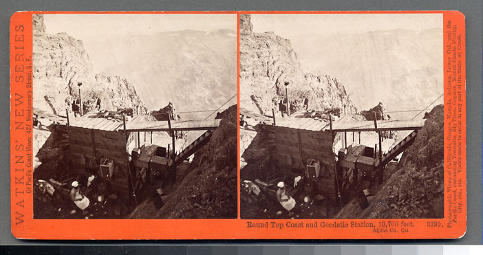 Watkins #3390 - Round Top, Coast and Geodetic Station, 10,700 ft., Alpine County, Cal.