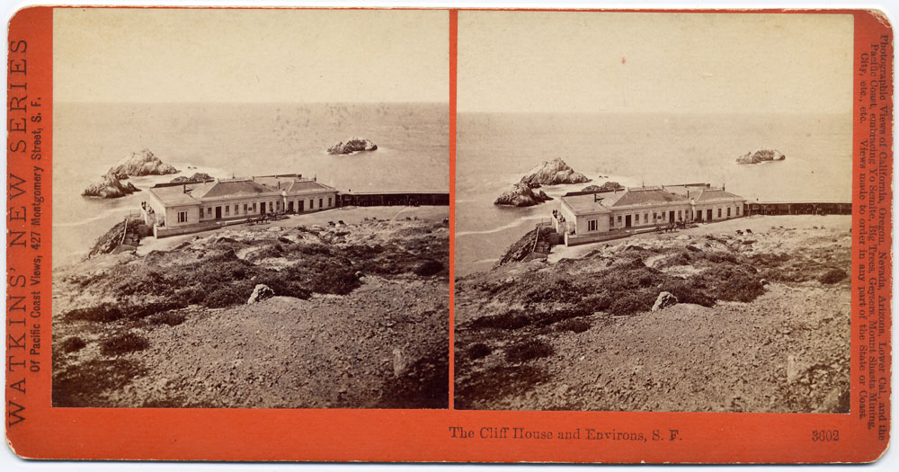 Watkins #3602 - The Cliff House and Environs, San Francisco.