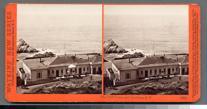 Watkins #3604 - The Cliff House and Environs, San Francisco.