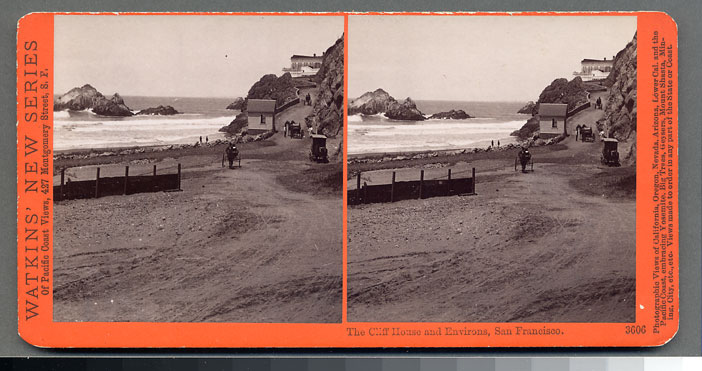 Watkins #3606 - The Cliff House and Environs, San Francisco.