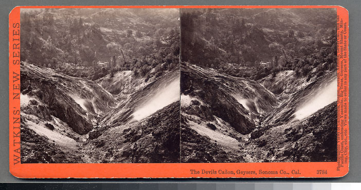 Watkins #3784 - The Devil's Canon, Geysers