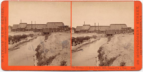#4078 - The Mexican (Yellow Jacket) mill, Carson River, Nev.