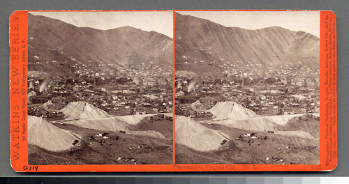 #4116 - Panorama of Virginia City, Nev. #5