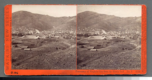 #4124 - Panorama of Virginia City from North End, Nev. #5