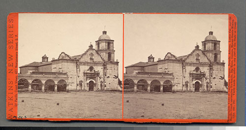 #4608 - Mission San Luis Rey de Francia, Estab. June 13, 1798, Cal.