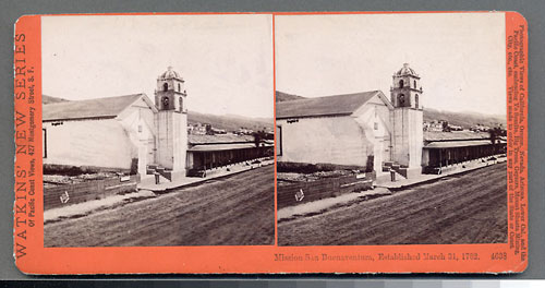 #4638 - Mission San Buenaventura, Established March 31, 1782, Cal.