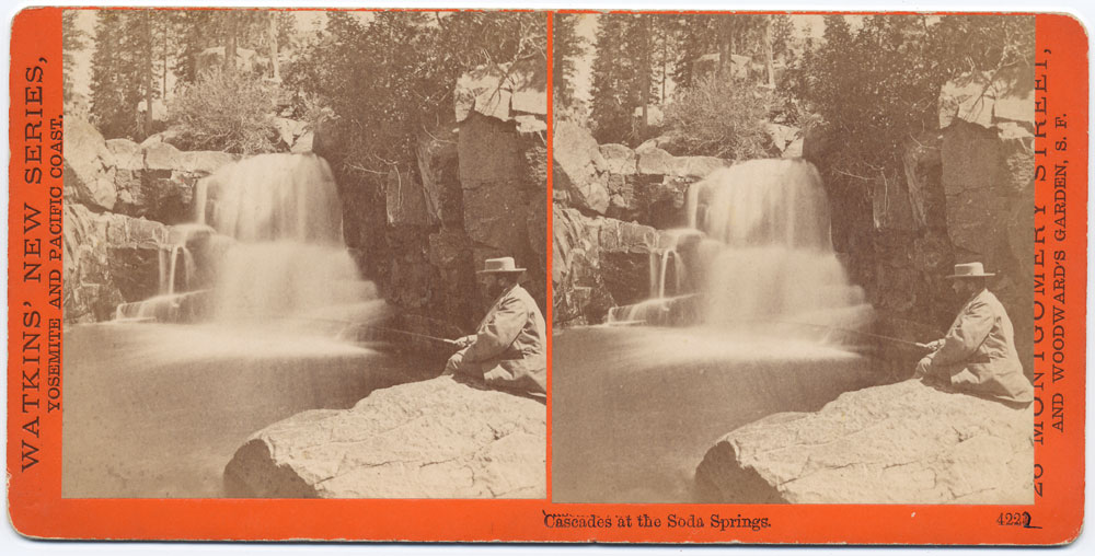 Watkins #4222 - Cascades at the Soda Springs, Cal.