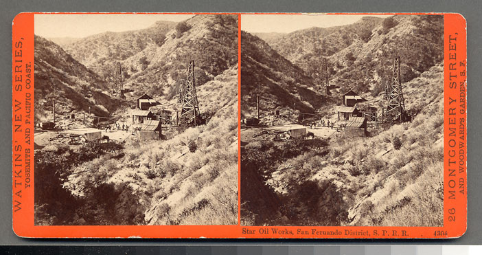Watkins #4304 - Star Oil Works, San Fernando District, S.P.R.R., Cal.