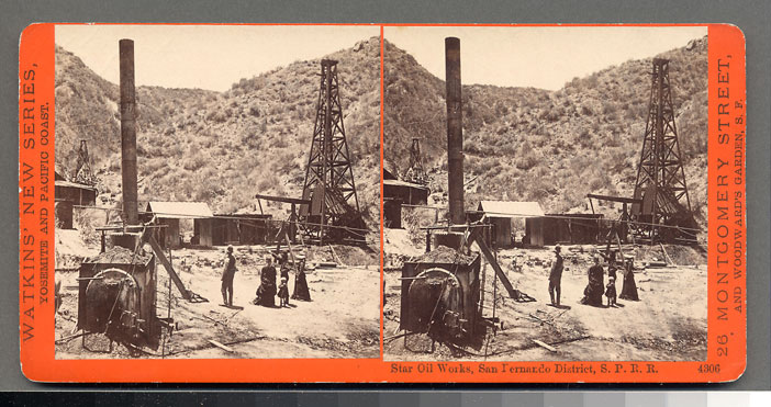 Watkins #4306 - Star Oil Works, San Fernando District, S.P.R.R., Cal.