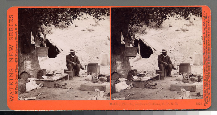 Watkins #4325 - Making Pinnola, Andrews Station, S.P.R.R., Cal.