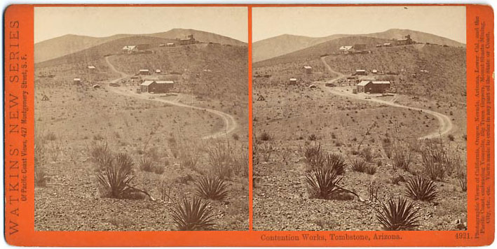 Watkins #4921 - Contention Works, Tombstone, Arizona.
