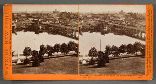 #5273 - Panorama of Victoria, (B.C.), from the Gov't Buildings, No. 10.