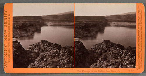 #E27 - The Passage of the Dalles, Columbia River, Oregon