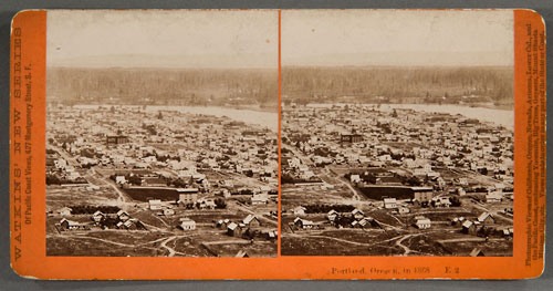 #E2 - Portland, Oregon in 1868