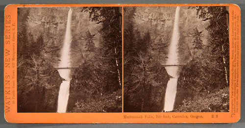 #E3 - Multnomah Falls, 700 ft., Columbia River Scenery, Oregon