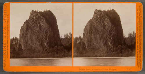#E43 - Castle Rock, Columbia River Scenery, Oregon