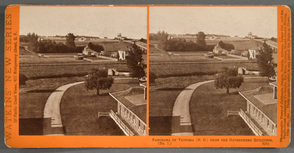 Watkins #5264 - Panorama of Victoria, (B.C.). from the Gov't Buildings, No. 1.