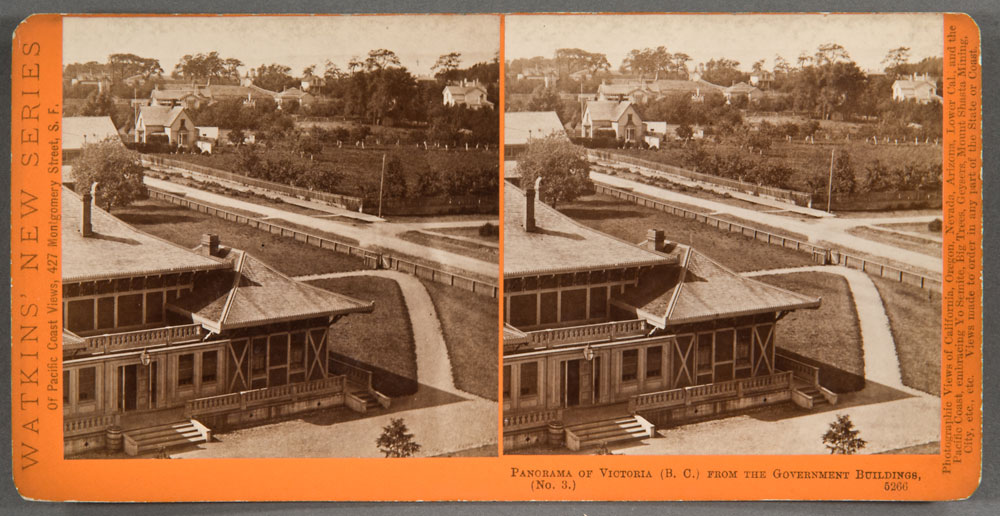 Watkins #5266 - Panorama of Victoria, (B.C.), from the Gov't Buildings, No. 3.