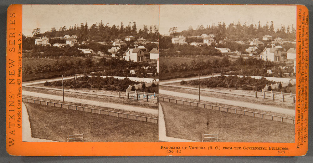 Watkins #5267 - Panorama of Victoria, (B.C.), from the Gov't Buildings, No. 4.