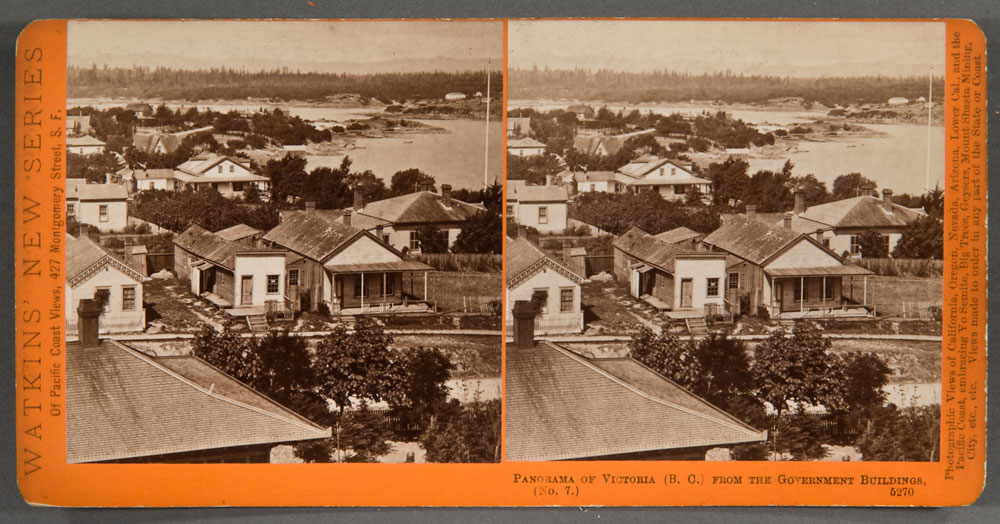 Watkins #5270 - Panorama of Victoria, (B.C.), from the Gov't Buildings. No. 7.