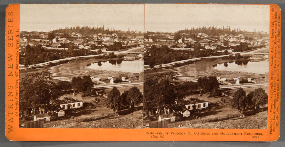 Watkins #5272 - Panorama of Victoria, (B.C.), from the Gov't Buildings. No. 9.