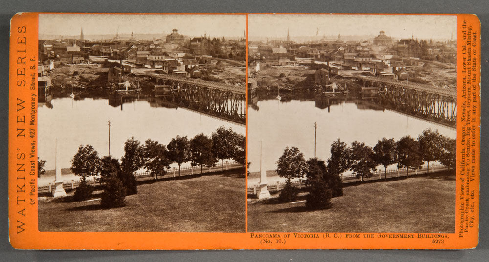 Watkins #5273 - Panorama of Victoria, (B.C.), from the Gov't Buildings, No. 10.
