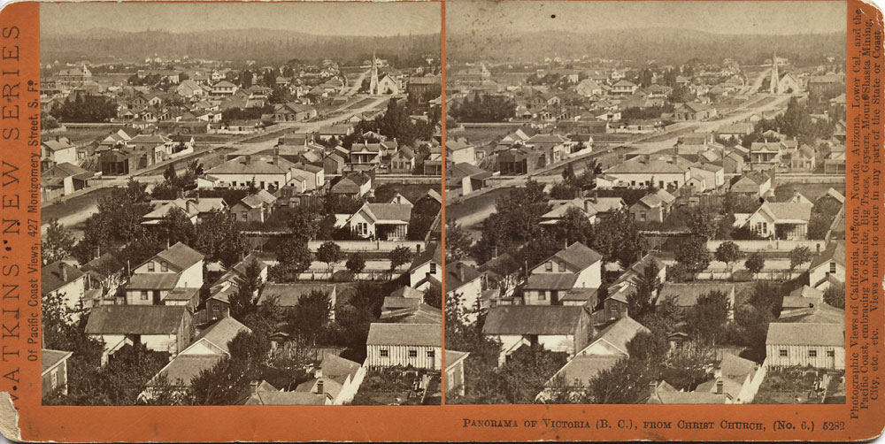 Watkins #5282 - Panorama of Victoria, (B.C.). from Christ Church, No. 6.