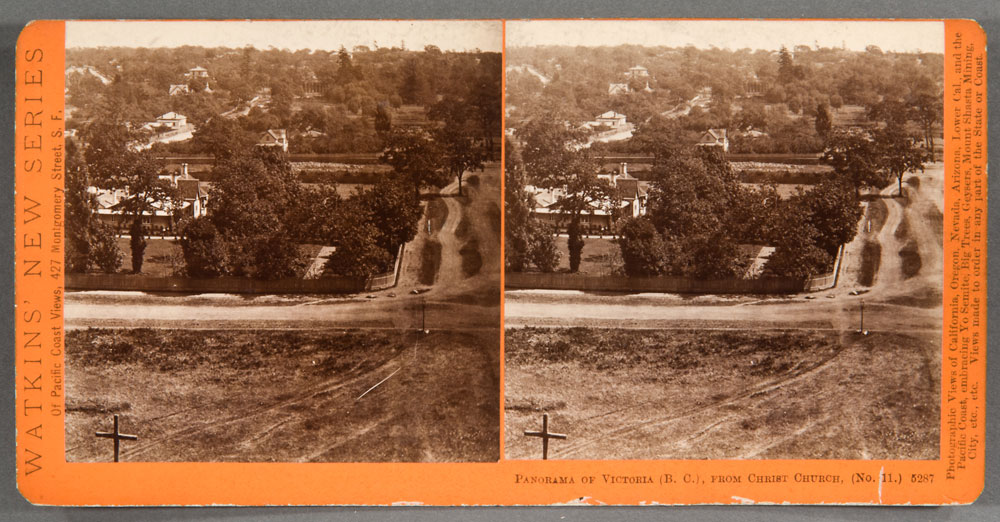 Watkins #5287 - Panorama of Victoria, (B.C.), from Christ Church, No. 11.