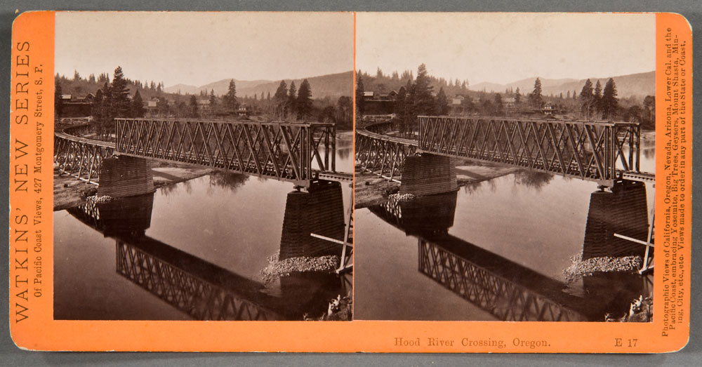 Watkins #E17 - Hood River Crossing, Columbia River, Oregon