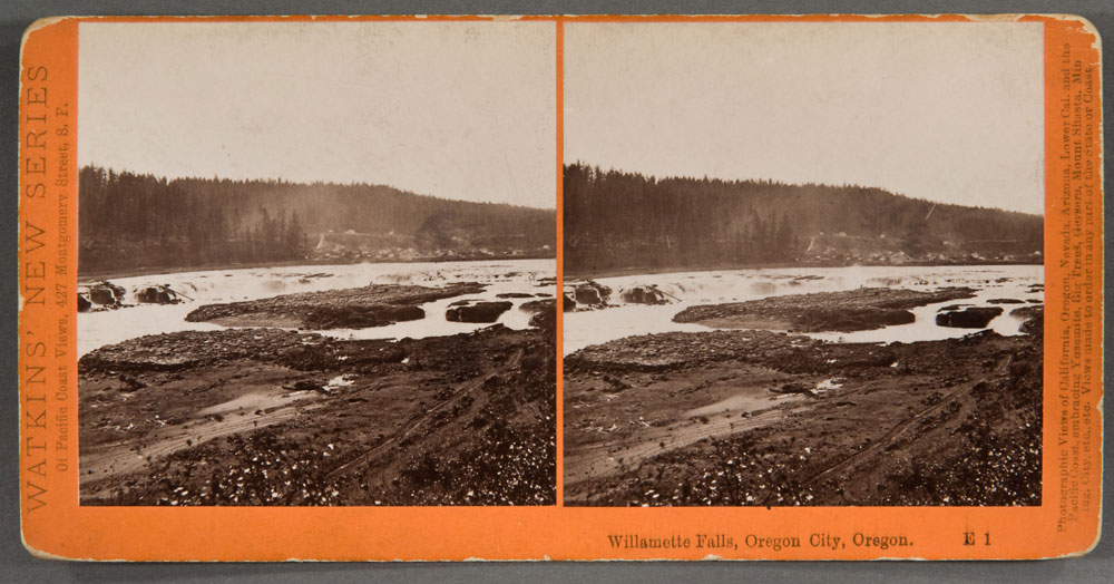 Watkins #El - Willamette Falls, Oregon City
