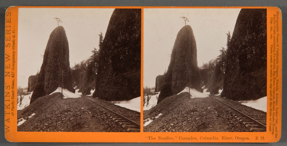 Watkins #E31 - The Needles, Cascades, Columbia River, Oregon