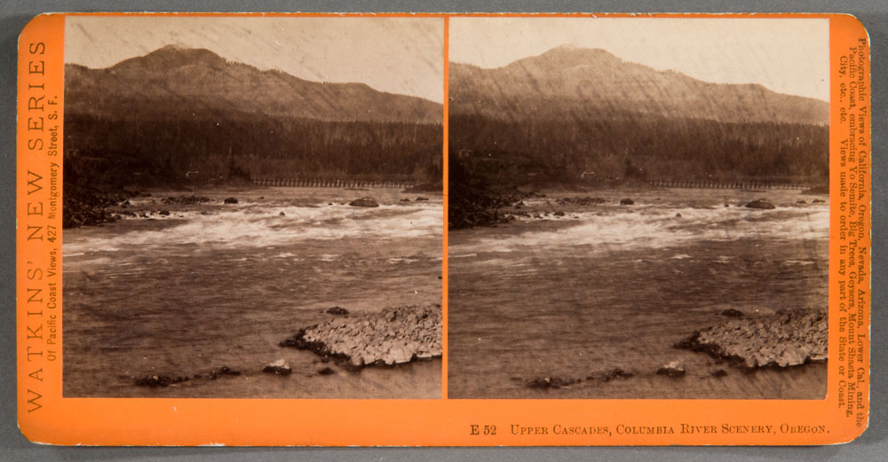 Watkins #E52 - Upper Cascades, Columbia River Scenery, Oregon