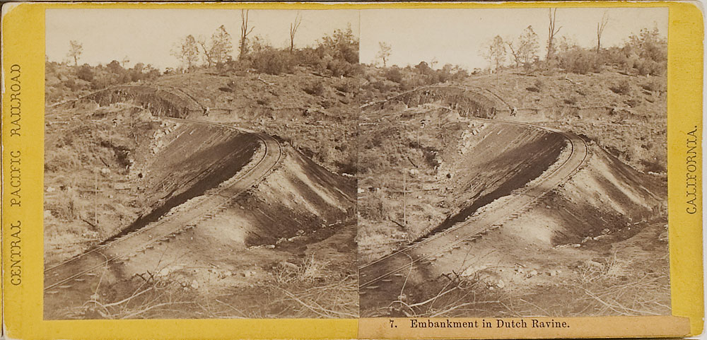 Watkins #7 - Embankment in Dutch Ravine