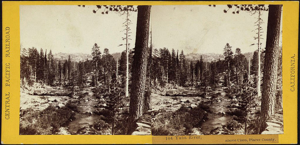 Watkins #104 - Yuba River, above Cisco, Placer County