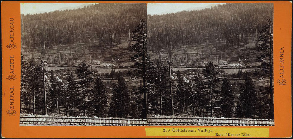 Watkins #259 - Coldstream Valley. East of Donner Lake