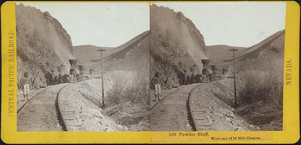Watkins #328 - Powder Bluff. West end of 10 mile Canyon