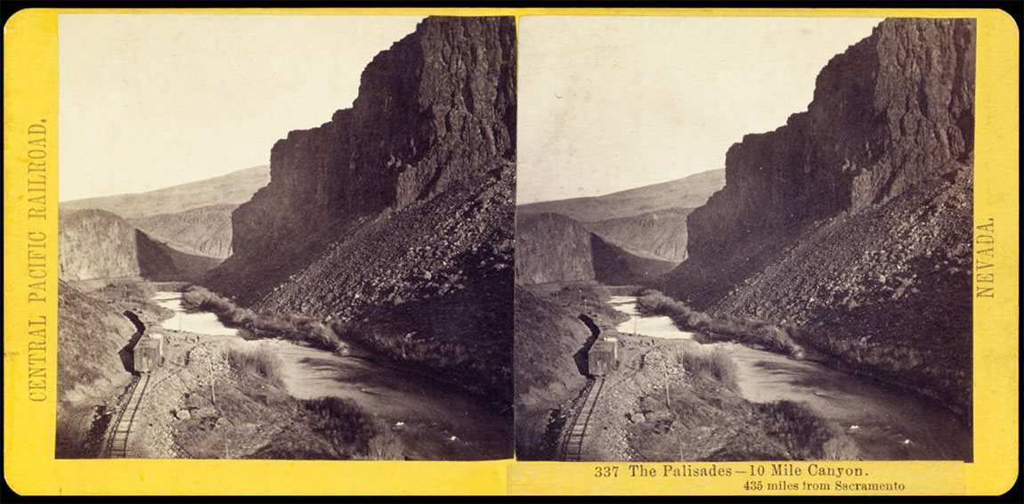 Watkins #337 - The Palisades, Ten Mile Canyon