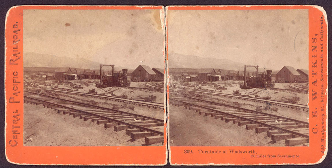 Watkins #309 - Turntable at Wadsworth