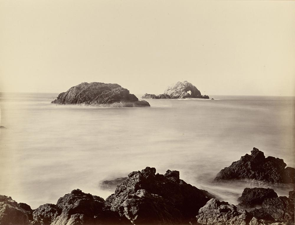 Watkins #552 - View from Seal Point, Sugar Loaf Island, Farallon Islands