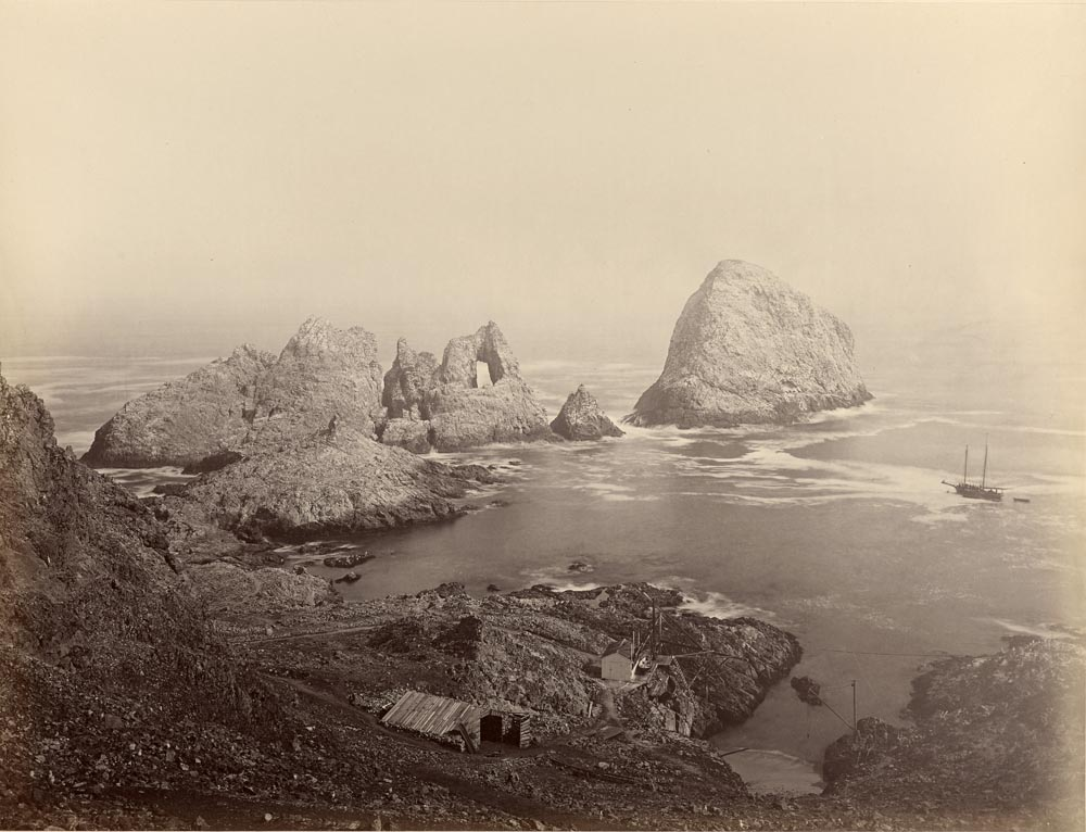 Watkins #562 - Sugar Loaf Island and Fisherman's Bay, Farallon Islands