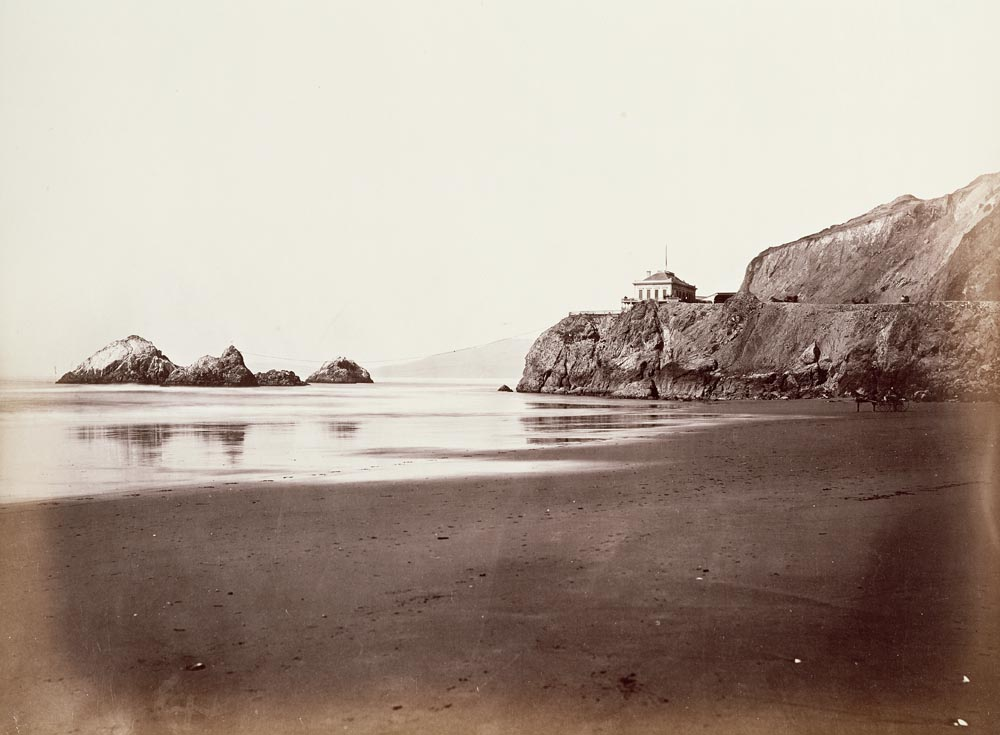 Watkins #295 - The Cliff House from the Beach, San Francisco