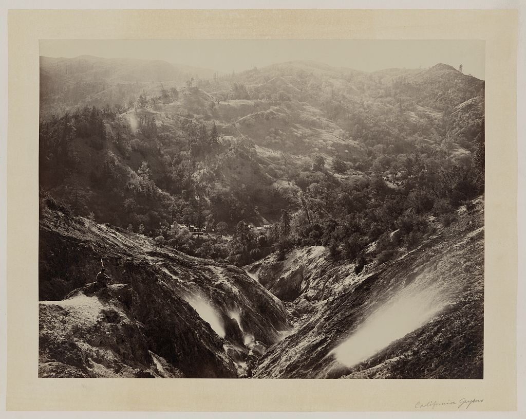 Watkins #467 - Devil's Canyon, The Geysers,Sonoma County