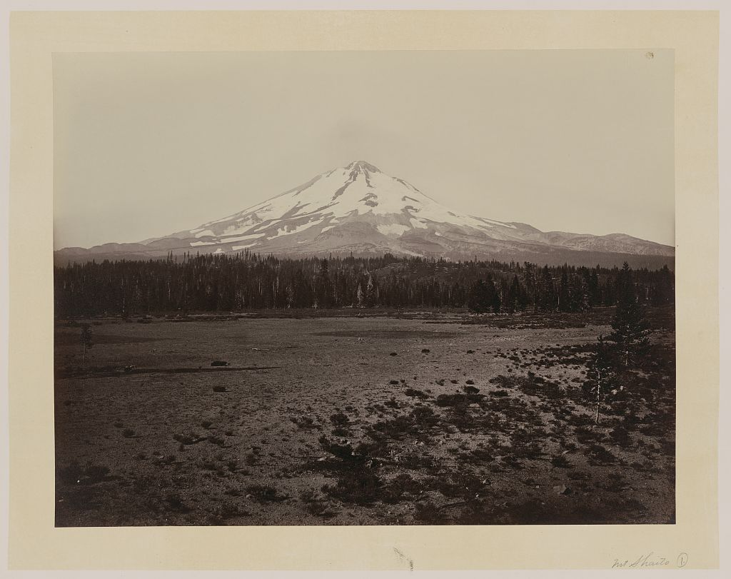 Watkins #464 - Mount Shasta from the North, Siskiyou County