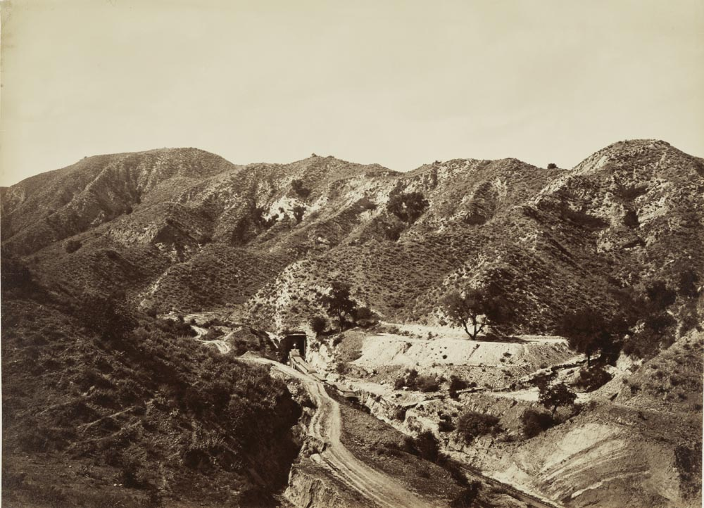 Watkins #1146 - San Fernando Tunnel, View from the North, Los Angeles County