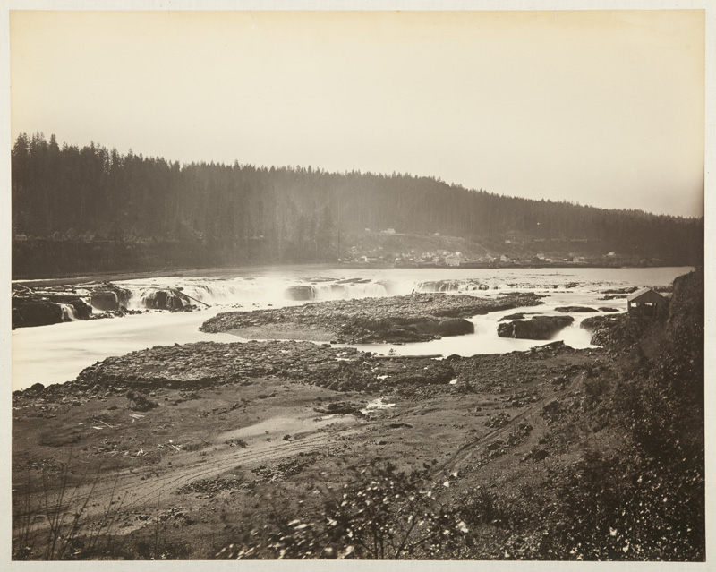 Watkins #409 - The Willamette Falls, Oregon