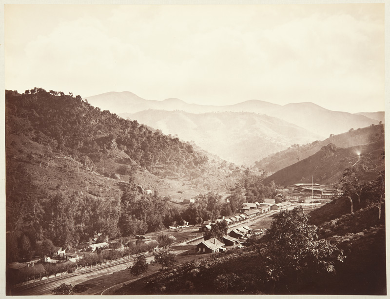 Watkins #123 - Street View at the Hacienda, New Almaden