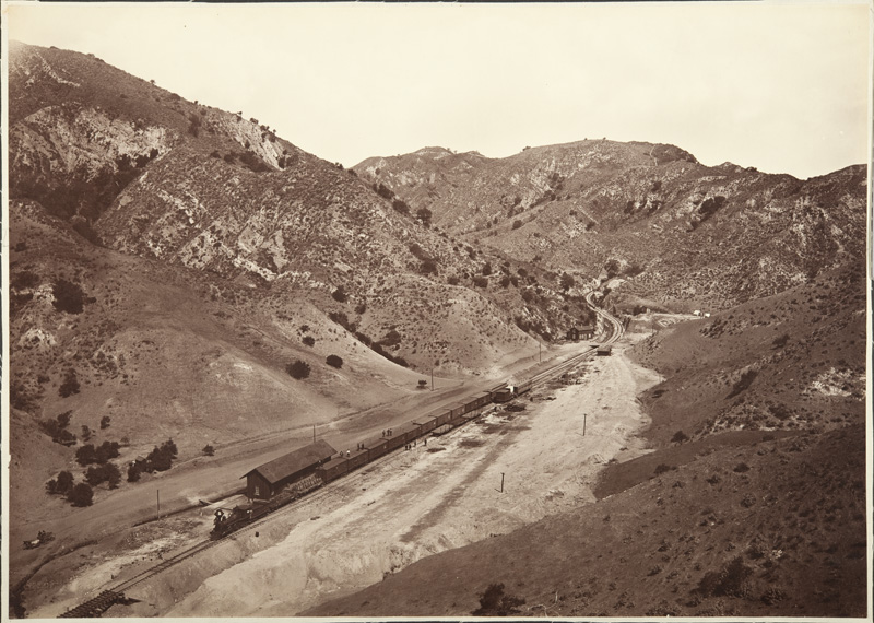 Watkins #1145 - San Fernando Tunnel and Andrews Station, Los Angeles County
