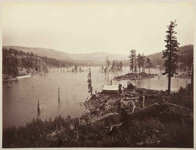 Watkins #501 - View from Between the Two English Reservoirs, Nevada County